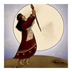 Wild Symbol of Shaman Slot