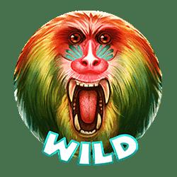 Wild Symbol of 7 Monkeys Slot