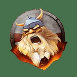 Wild Symbol of Brave Viking Slot