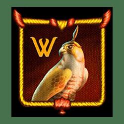 Wild Symbol of The Falcon Huntress Slot