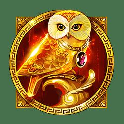 Wild Symbol of The Golden Owl Of Athena Slot