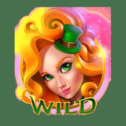 Wild Symbol of Lucky lands Slot