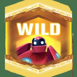 Wild Symbol of Big Bot Crew Slot