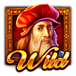 Wild Symbol of Da Vinci's Treasure Slot