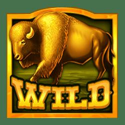 Wild Symbol of Buffalo Rising Slot