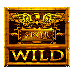 Wild Symbol of Rome: Rise of an Empire Slot
