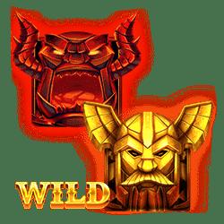 Wild Symbol of Thor's Lightning Slot