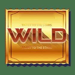 Wild Symbol of Ticket to the Stars Slot