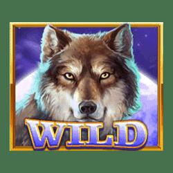 Wild Symbol of Wolf Legend Megaways Slot