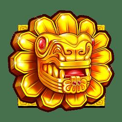 Wild Symbol of John Hunter and the Aztec Treasure Slot