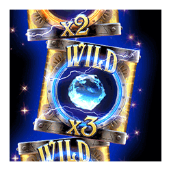 Wild Symbol of Riders of the Storm Slot