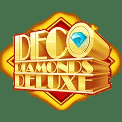 Wild Symbol of Deco Diamonds Deluxe Slot