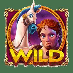 Wild Symbol of Hercules and Pegasus Slot