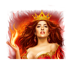 Wild Symbol of Fire Queen Slot