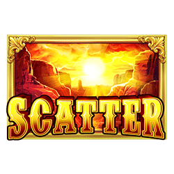 Scatter of Wild West Gold Slot