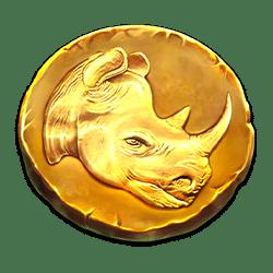Wild Symbol of Great Rhino Deluxe Slot