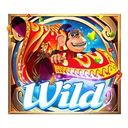 Wild Symbol of Genie Jackpots Wishmaker Slot