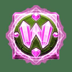Wild Symbol of Crystal Quest: Deep Jungle Slot