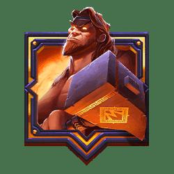Wild Symbol of Hammer of Vulcan Slot