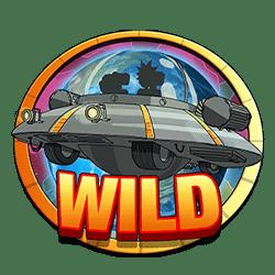 Wild Symbol of Rick and Morty Wubba Lubba Dub Dub Slot
