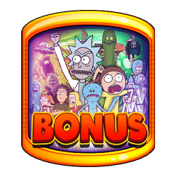 Scatter of Rick and Morty Wubba Lubba Dub Dub Slot
