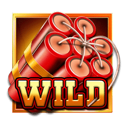 Wild Symbol of Rolling in Gold Slot