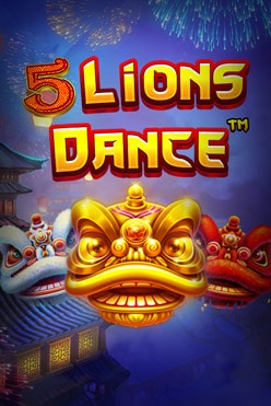 5 Lions Dance Free Play in Demo Mode