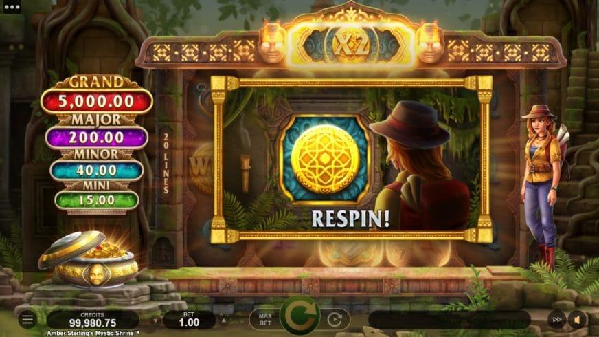 free slot Amber Sterlings Mystic Shrine