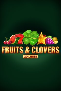 Fruits & Clovers 20 lines Free Play in Demo Mode