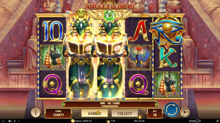 free slot Rich Wilde And The Amulet of Dead