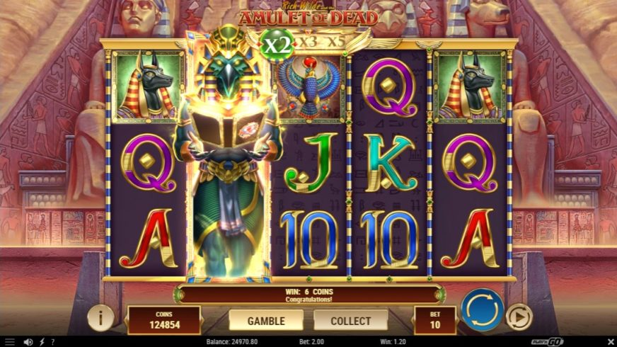 Rich Wilde And The Amulet of Dead free slot