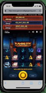 Mobile App Red Tiger Slots