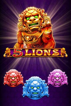 5 Lions Free Play in Demo Mode