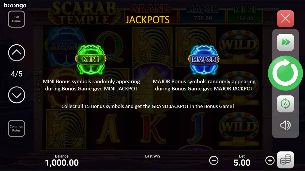 Booongo Jackpots