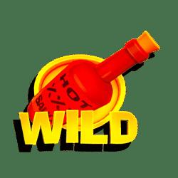 Wild Symbol of Chili Eruption Thundershots Slot