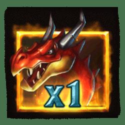 Wild Symbol of Firedrake's Fortune Slot