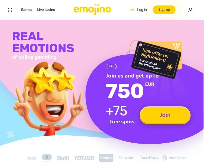Emojino Casino Overview