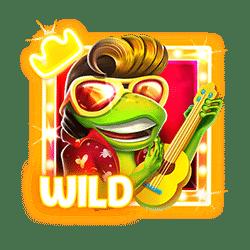 Wild Symbol of Aloha King Elvis Slot