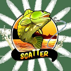 Scatter of Bigger Bass Bonanza Slot