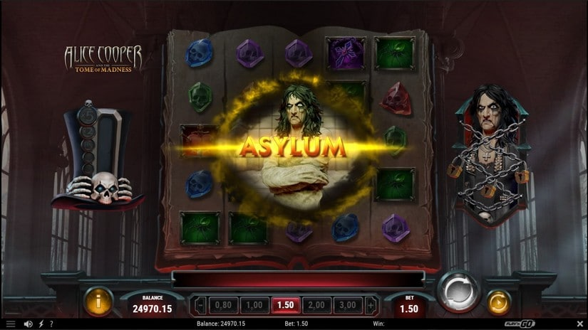 Alice Cooper and the Tome of Madness Asylum