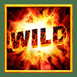 Wild Symbol of Red Hot Volcano Slot