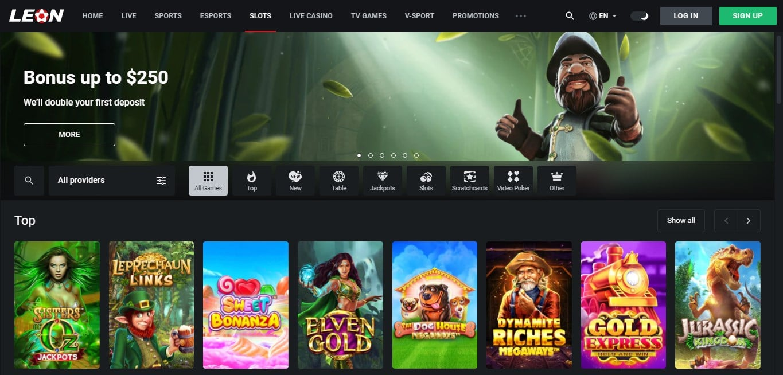 Leon Casino Review